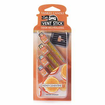 Yankee Candle Honey Clementine Car Vent Clip 4-piece Set