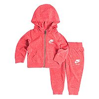 Baby Girl Nike Nep Hoodie & Jogger Pants Set