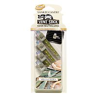 Yankee Candle Sage & Citrus Car Vent Clip 4 pc Set