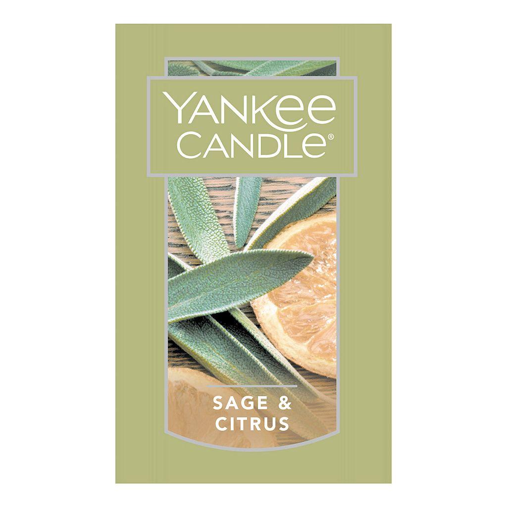Yankee Candle Sage & Citrus Car Vent Clip 4-piece Set