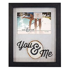 New View 'You & Me' Shadowbox 4' x 6' Frame