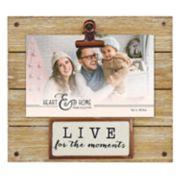 "New View Farmhouse 4"" x 6"" Photo Clip Frame"