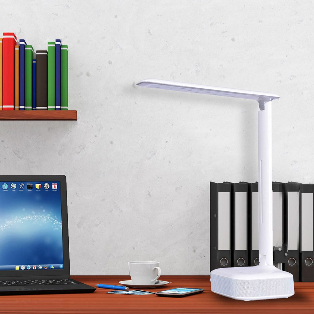 Catalina Lighting Tensor Wireless Speaker LED Desk Lamp