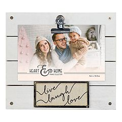 New View 'Love' 4' x 6' Photo Clip Frame