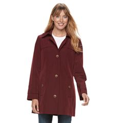 Women's TOWER by London Fog Grommet Raincoat