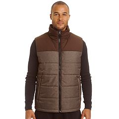 Men's Champion Colorblock Quilted Puffer Vest