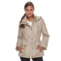 Women's FOG by London Fog Hooded Rain Jacket