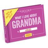 """""""What I Love About Grandma"""" Fill-In-The-Blank Journal"""