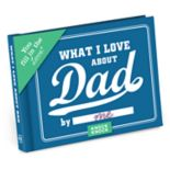 """""""What I Love About Dad"""" Fill-In-The-Blank Journal"""