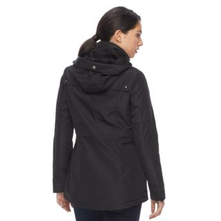 Women's Weathercast Hooded Plush-Lined Anorak