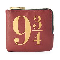 Harry Potter Platform 9 3/4 King's Cross L-Zip Wallet