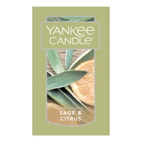 Yankee Candle Sage & Citrus Scent-Plug Electric Home Fragrancer Refill