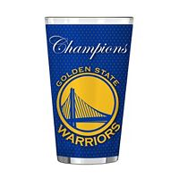 Boelter Golden State Warriors 2017 NBA Champions Pint Glass