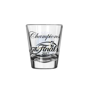 Boelter Golden State Warriors 2017 NBA Champions Etched Shot Glass