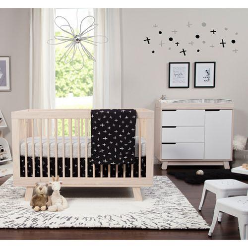 Babyletto Tuxedo Monochrome Crib Skirt