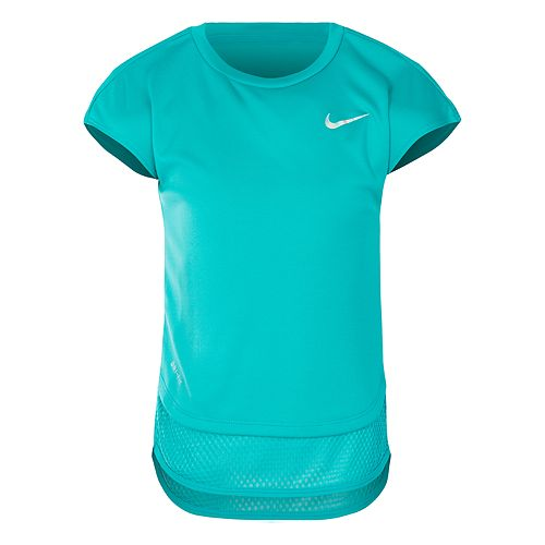 Girls 4-6x Nike Dri-FIT High-Low Tee