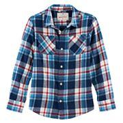 Boys 8-20 Urban Pipeline® Ultimate Regular-Fit 2-Pocket Flannel Button-Down Shirt
