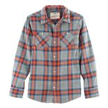 Boys 8-20 Urban Pipeline® Ultimate Regular-Fit 2-Pocket Flannel Button-Down Shirt
