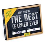 """Why You're The Best Teacher Ever"" Fill-In-The-Blank Journal"
