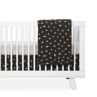 Babyletto Tuxedo Monochrome Reversible Blanket