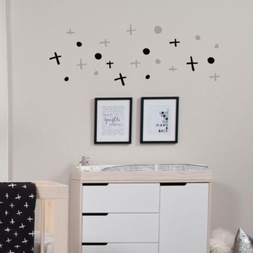 Babyletto Tuxedo Monochrome Wall Decals