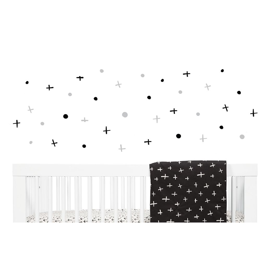 Babyletto Tuxedo Monochrome Wall Decals