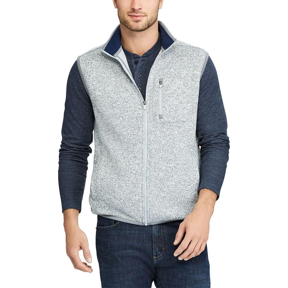 & Tall Chaps Regular-Fit Fleece Vest