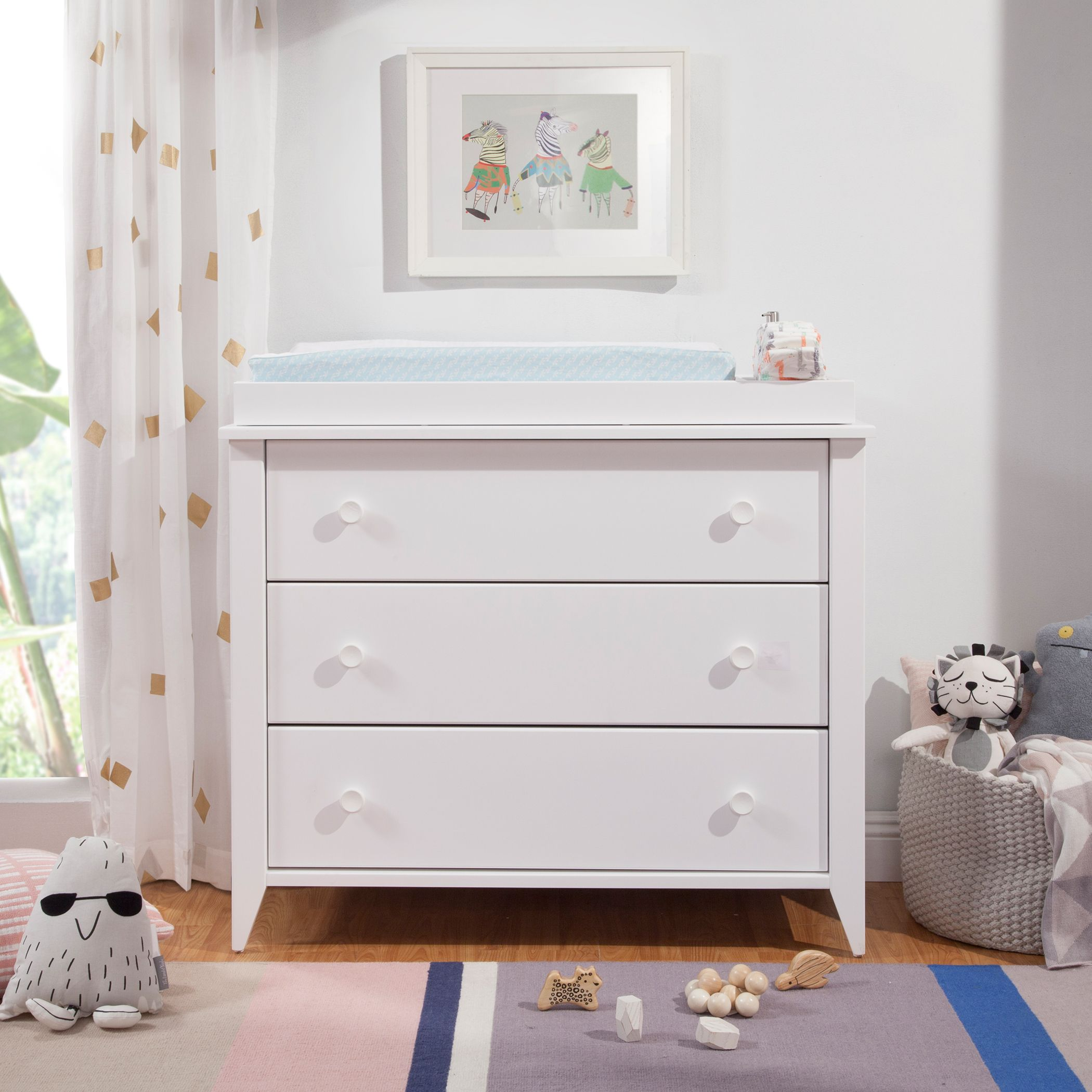 Babyletto Sprout 3 Drawer Changing Dresser With Removable Changing Tray