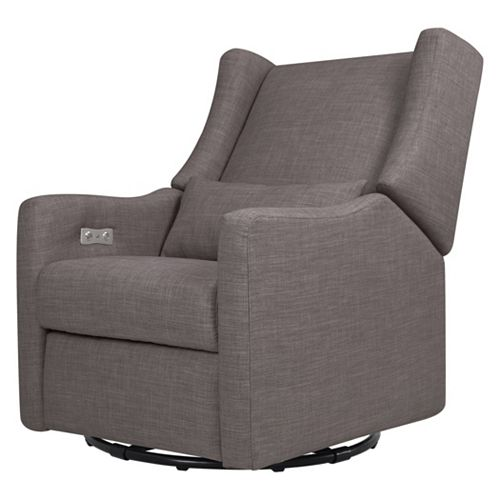 Jsp Furniture: Babyletto Kiwi Electronic Recliner & Swivel Glider With