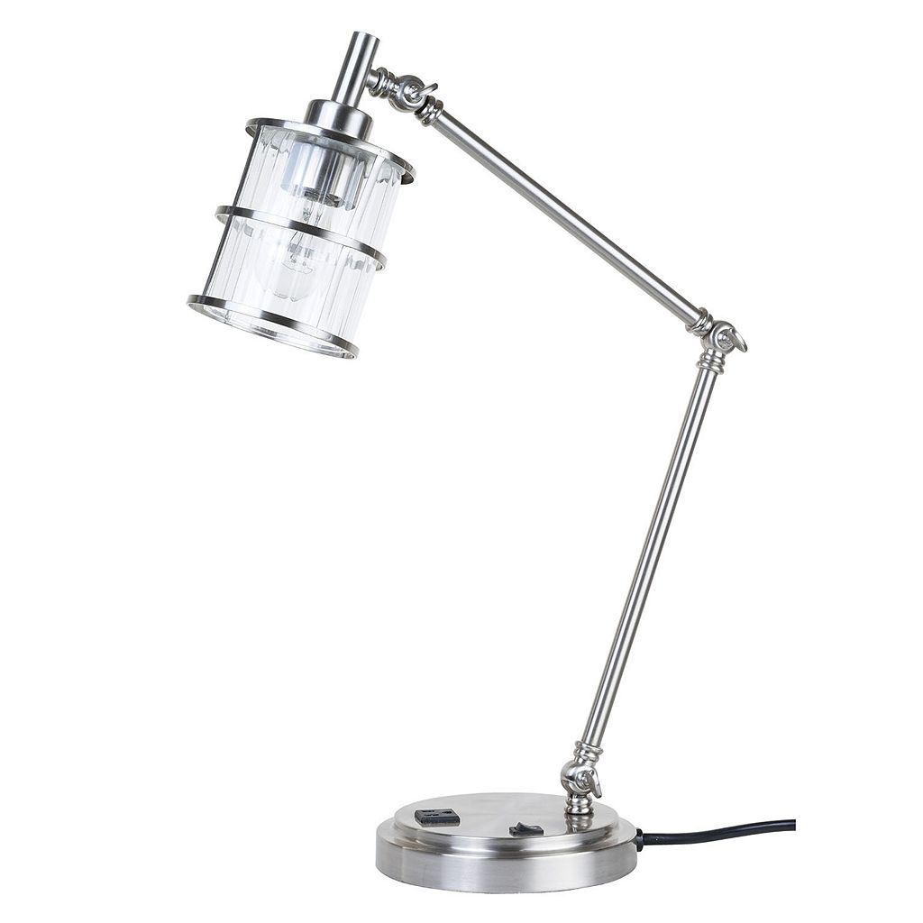 Catalina Lighting Charging Station Desk Lamp
