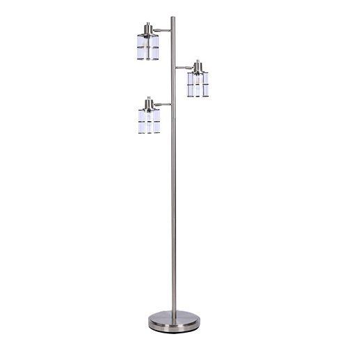 Catalina Lighting Modern 3-Light Floor Lamp