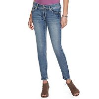 Women's Apt. 9® Embellished Skinny Jeans