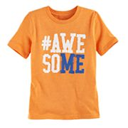 Boys 4-10 Jumping Beans® 'AWESOME' Graphic Tee