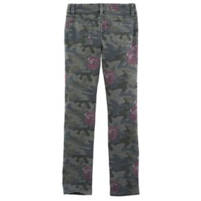 Girls 7-16 & Plus Size Mudd® Camo Ankle Skinny Jeans