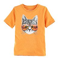 Boys 4-10 Jumping Beans® Cat in Sunglasses Graphic Tee