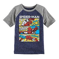 Boys 4-10 Jumping Beans® Marvel Spider-Man Raglan Graphic Tee