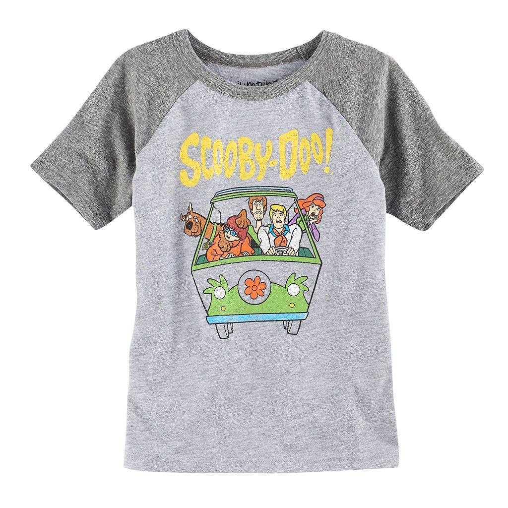 Boys 4-10 Jumping Beans® Scooby-Doo Van Raglan Graphic Tee