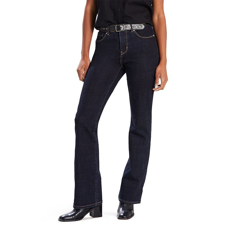 Women's Levi's Classic Bootcut Jeans. Size: 26(US 2)Small. Dark Blue