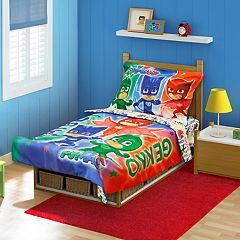 PJ Masks 4 pc Toddler Bedding Set