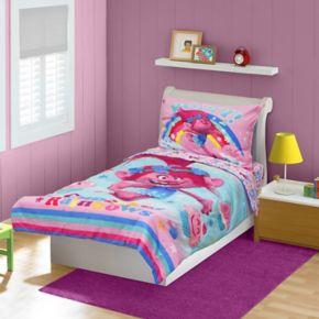 DreamWorks Trolls 4-pc. Toddler Bedding Set