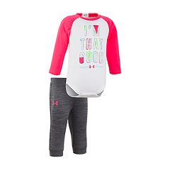 Baby Girl Under Armour 'I'm That Good' Tee & Jogger Pants Set