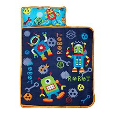 Baby Boom Robots In Action Toddler Nap Mat