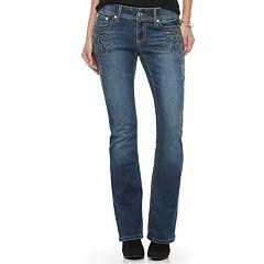 Women's Apt. 9® Embellished Modern Fit Bootcut Jeans