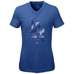 Girls 7-16 Majestic Los Angeles Dodgers Out of the Park Tee