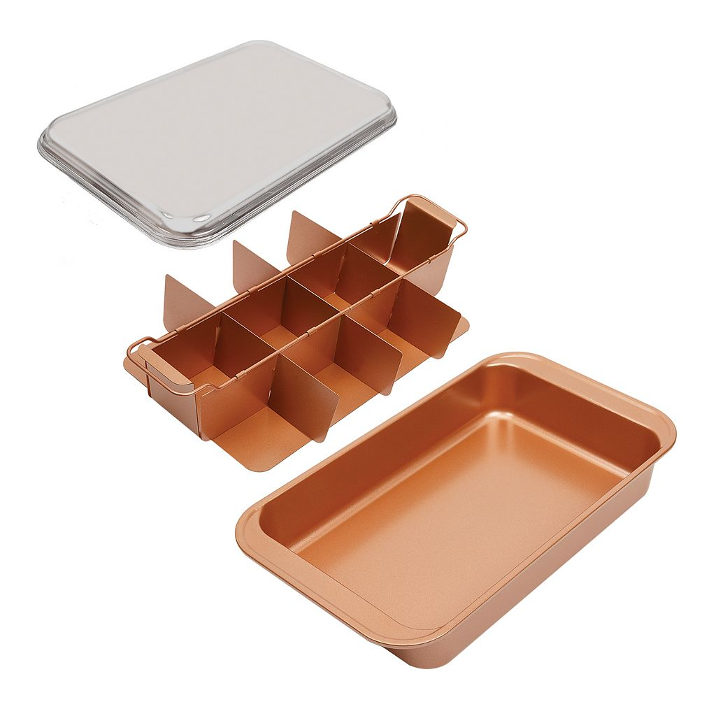 As Seen on TV Copper Chef Bake & Crisp Pan
