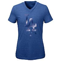 Girls 7-16 Majestic Los Angeles Dodgers Slider Tee