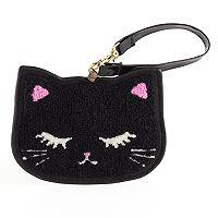 Kitty Chenille ID Case