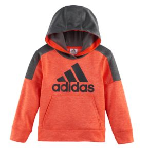Boys 4-7x adidas Hooded Graphic Pullover