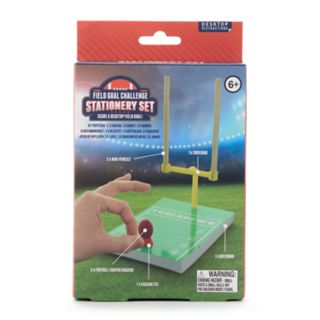 Desktop Field Goal Challenge Stationery Set