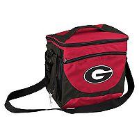 Logo Brand Georgia Bulldogs 24-Can Cooler